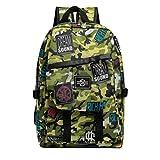 StyleV Men Women Backpack Unisex Large Capacity Waterproof Camouflage Travel Bag