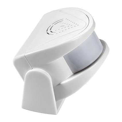 KERUI M5 Timbre Inalámbrico para Puerta, Sensor de Movimiento Inalámbrico con Sistema de Alarma Antirrobo para el Hogar, Hotel, Tienda, Oficina de ...