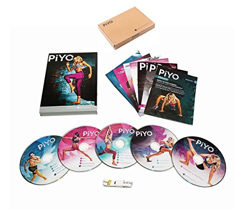 PiYo Base Kit 5 DVDs Workout with Exercise Videos & Fitness Tools and Nutrition Guide by PiYo