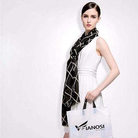 ZXXWJ Nuevo Diseño De Primera Mujer Bufanda Marca Bufandas Chal ...
