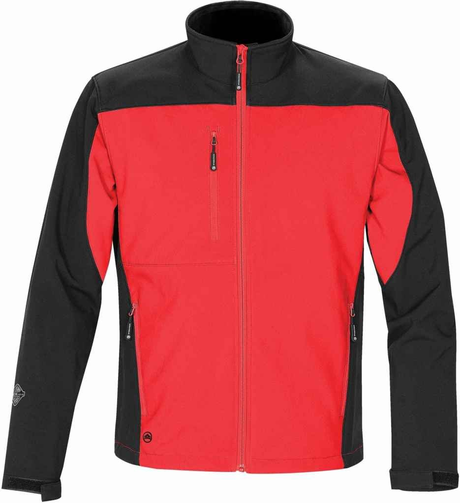 Stormtech Men's Edge Softshell LG Red