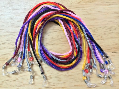 8 x Necklace Style Eyeglass Holder Fashion Cords [Health and Beauty]
