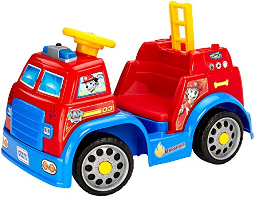 Power Wheels Nickelodeon PAW Patrol Fire Truck (Paw Patrol Marshall Fire Truck Ride On)