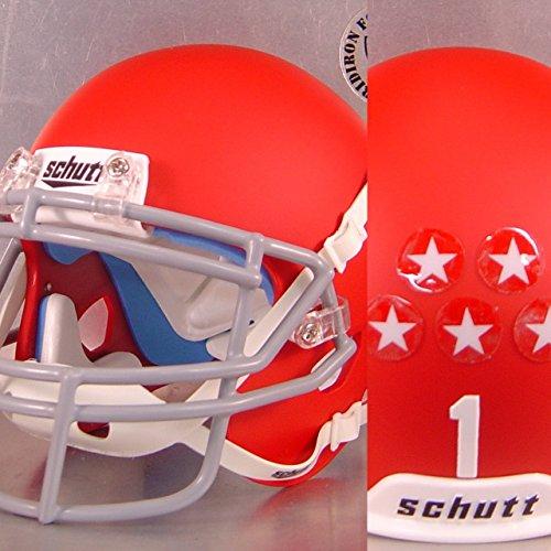 Sweetwater Mustangs 2017 - Texas High School Football MINI Helmet