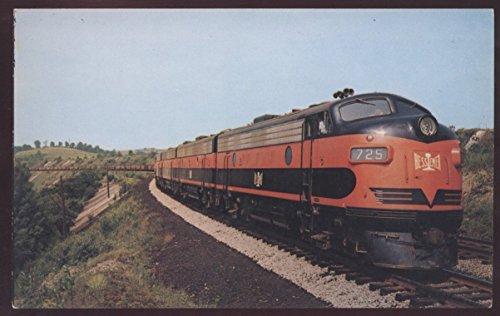 Bessemer Lake Erie 725 EMD Alco Diesel Train Locomotive Railroad Postcard