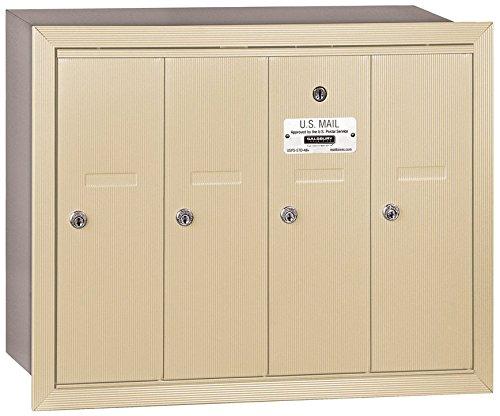 4 Door Aluminum Mailbox - 5