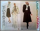 Vogue Paris Original Pattern, Yves Saint Laurent, #1761