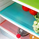 AKINLY 9 Pack Refrigerator Mats,Washable Fridge Mats Liners Waterproof...