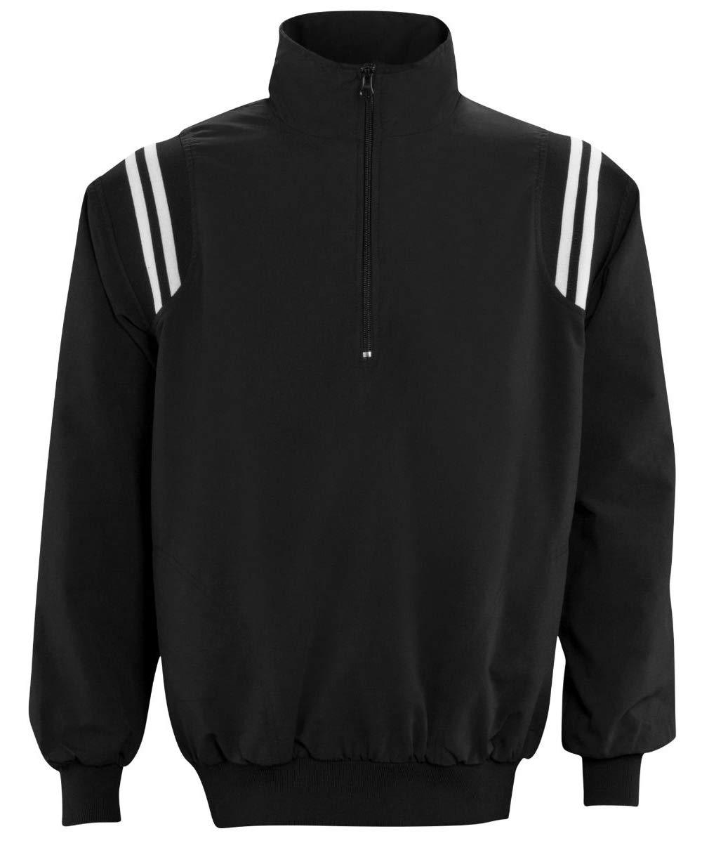 Adams USA ADMBB320-XL-BKWH アンパイア長袖プルオーバージャケット ブラック/ホワイト XL B07BDVYSDQ