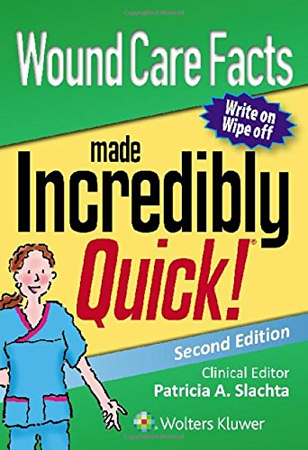 Wound Care Facts Made Incredibly Quick (Incredibly Easy! Series®)