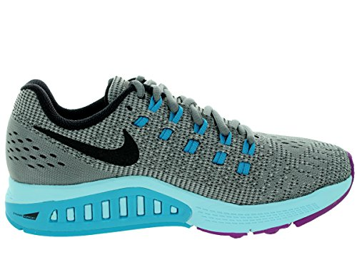 outlet real 2014 new sale online NIKE Womens Air Zoom Structure 19 Running Shoes Cool Grey/Black/Fuchsia Flash M02RxCNjcQ