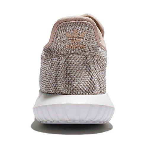 Adidas Vrouwen Buisvormige Schaduw W, Cla Bruin / Wit, 7 Ons