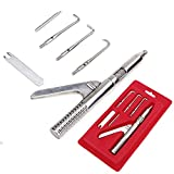 1 Set Automatic Singlehanded Crown Remover Stainless Steel Dental Surgical Instruments Tools