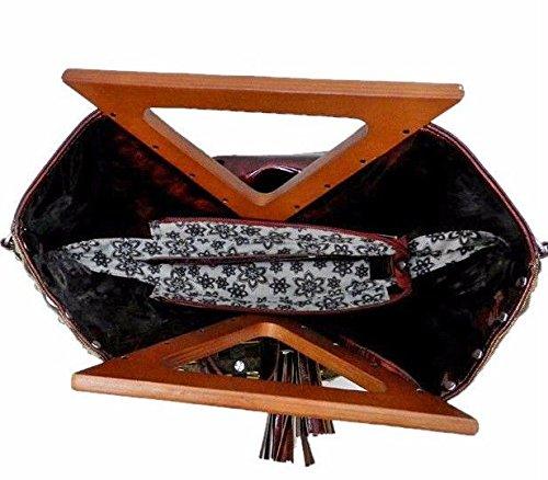 Designer amp; Crossbody Strap Hobo Weave Halogen Black Rhinestone w wtq4faf