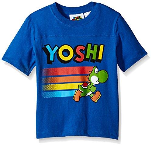 Nintendo Little Boys Yoshi T-Shirt, Blue, 4