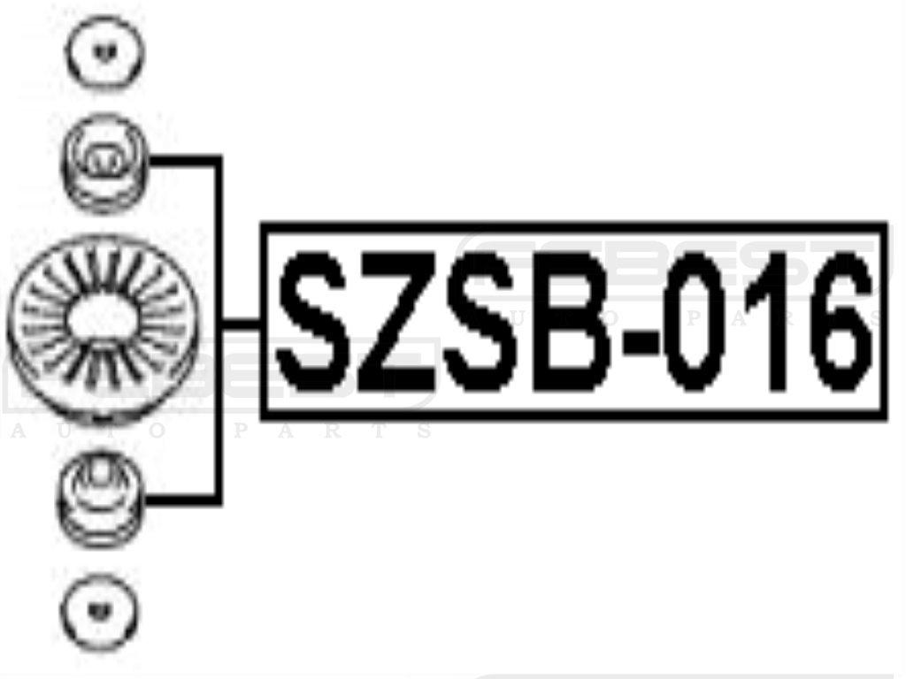 FEBEST SZSB-016 Shock Absorber Bushing