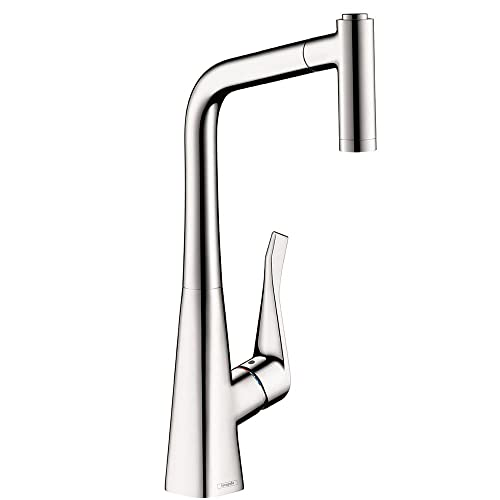 Hansgrohe Metris Premium 1-Handle 15-inch Tall Kitchen Faucet