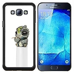 TECHCASE---Cubierta de la caja de protección para la piel dura ** Samsung Galaxy A8 ( A8000 ) ** --Bebé lindo