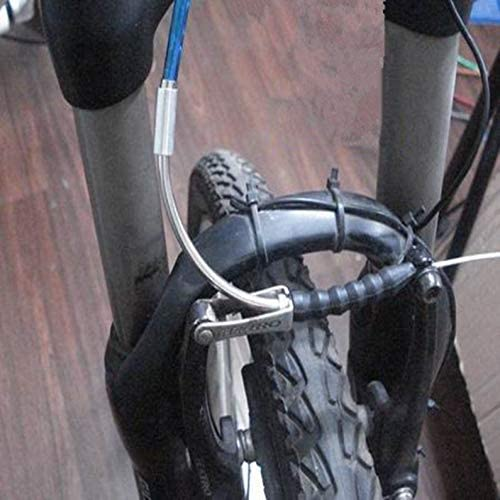 ukYukiko Bike V Brake Noodle Cable Guide Pipe Rubber Boots Bicycle Cycling Brake Pipe