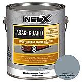 INSL-X EGG310S9A-1K Garage Guard Waterbased Epoxy Semi-Gloss Paint 1 Gallon Kit Showroom Gray