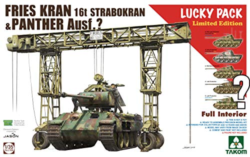 TAK02108 1:35 Takom Fries Kran 16t Strabokran & Panther for sale  Delivered anywhere in USA