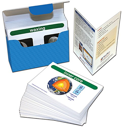 NewPath Learning 44-6018 Earth Science Vocabulary Builder Flash Card Set, Grade: 6 to 10