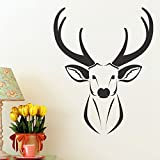 Decals Design 'Oh My Dear' Wall Sticker (PVC Vinyl, 50 cm x 70 cm), Multicolour