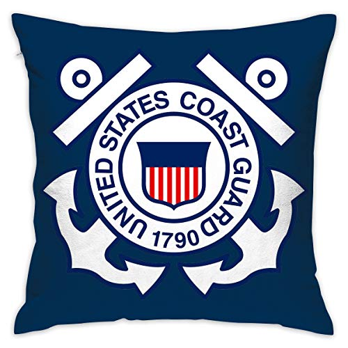 - Pksistcol United States Coast Guard 1790 Square Throw Pillow Case Cover 20x20 for Sofa Bed