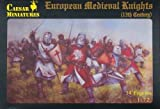 1/72 13th Century Medieval European Knights by Pegasus Hobbies