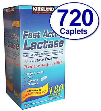 Kirkland Signature Fast Acting Lactase, Compare to…
