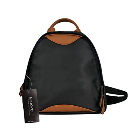 f97616409862 Amazon.com  BranXin - Fashion PU + Oxford Hit Color Backpack Casual ...