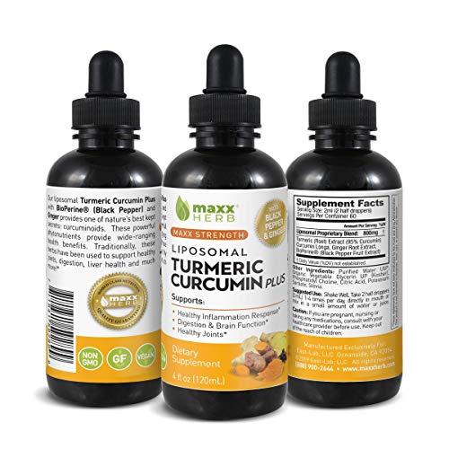 Maxx Herb Liposomal Inflammation Antioxidant product image