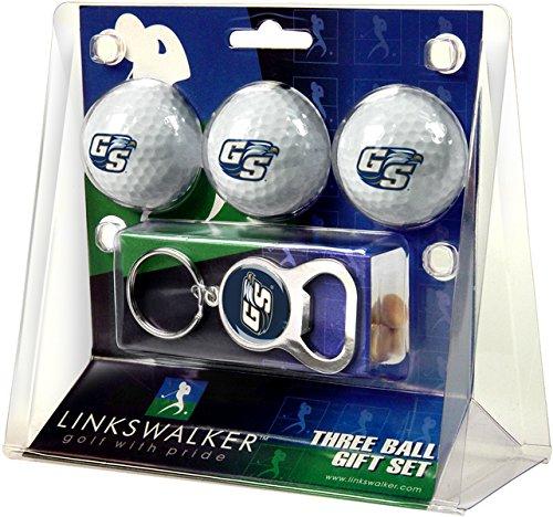 NCAA Georgia Southern Eagles - 3 Ball Gift Pack with Key Chain Bottle Opener B01FGMOSMC