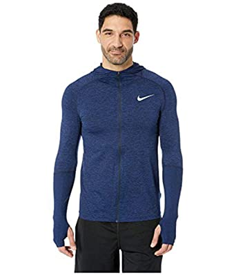 34e9f1c3f Image Unavailable. Image not available for. Color: Nike Men's Element  Full-Zip Dri-Fit Running Hoodie -Blue Void ...