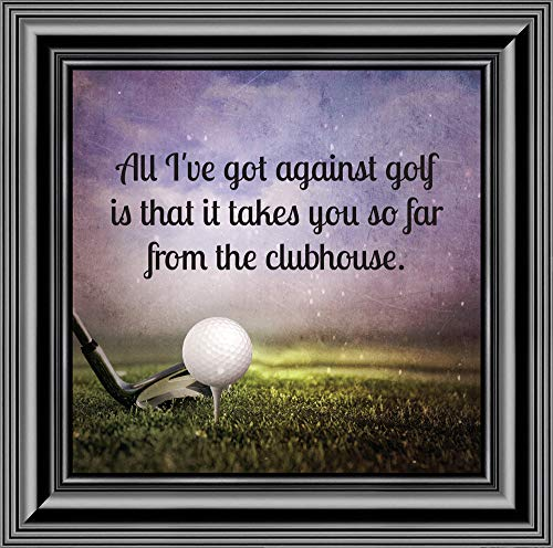 (Elegantly Yours Golf, Funny Golf Gifts Men Picture Frame, 10X10 8664B)