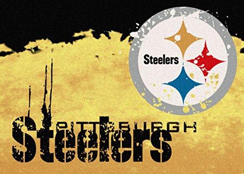 Pittsburgh Steelers Rug (Pittsburgh Steelers NFL Team Fade Area Rug by Milliken, 3'10