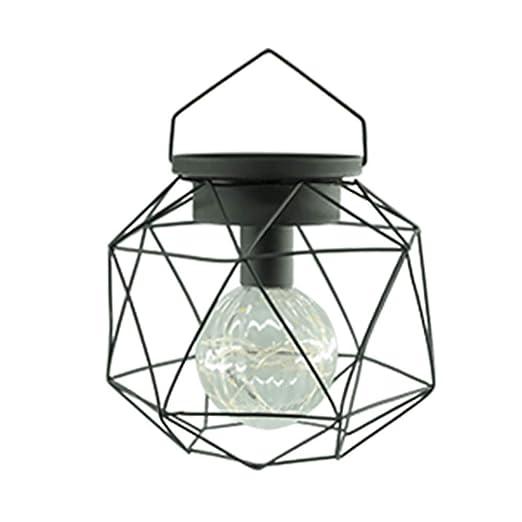 TXYFYP Lámpara Colgante Decoración Geométrico Forma para ...