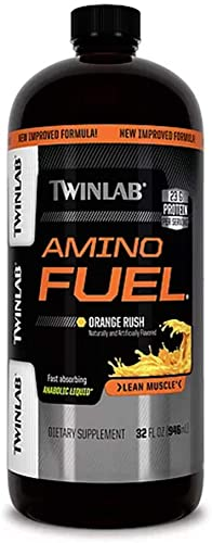 Amino Fuel Liquid Orange Twinlab, Inc 32 oz Liquid