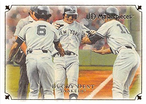 Bucky Dent baseball card (New York Yankees 1978 Home Run) 2008 Upper Deck Masterpieces #11 (Deck Masterpieces Upper)