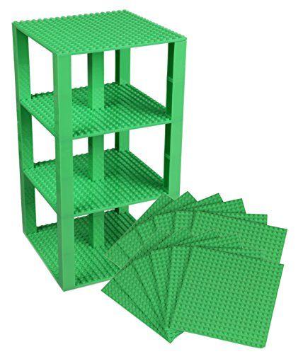 Premium Pastel Green Stackable Base Plates - 10 Pack 6