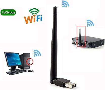 ETbotu Mini Wireless WiFi 7601 2.4 GHz Adaptador WiFi para ...