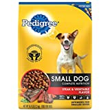 PEDIGREE Adult Small Dog Grilled Steak and Vegetable Flavor Dry Dog Food 15.9 Pounds