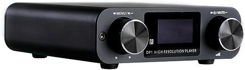 SMSL DP1 USB SD Card 32bit Headphone Amplifier Decoder High Resolution Digital Player