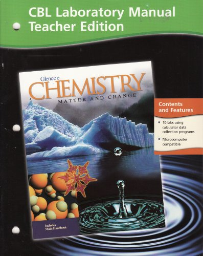 Laboratory Manual Teacher Edition Glencoe Chemistry Matter and Change