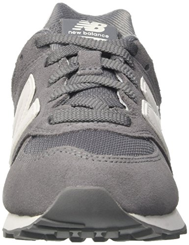 New Balance 574 High Visibility, Zapatillas Unisex Niños Gris (Grey)