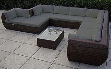 Amazonde Baidani 13b0001991001 Rattan Garten Lounge Garnitur
