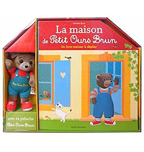 La maison de Petit Ours Brun : Avec une peluche