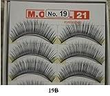 Model 21 False Eyelashes No. 19B, 10 Pairs
