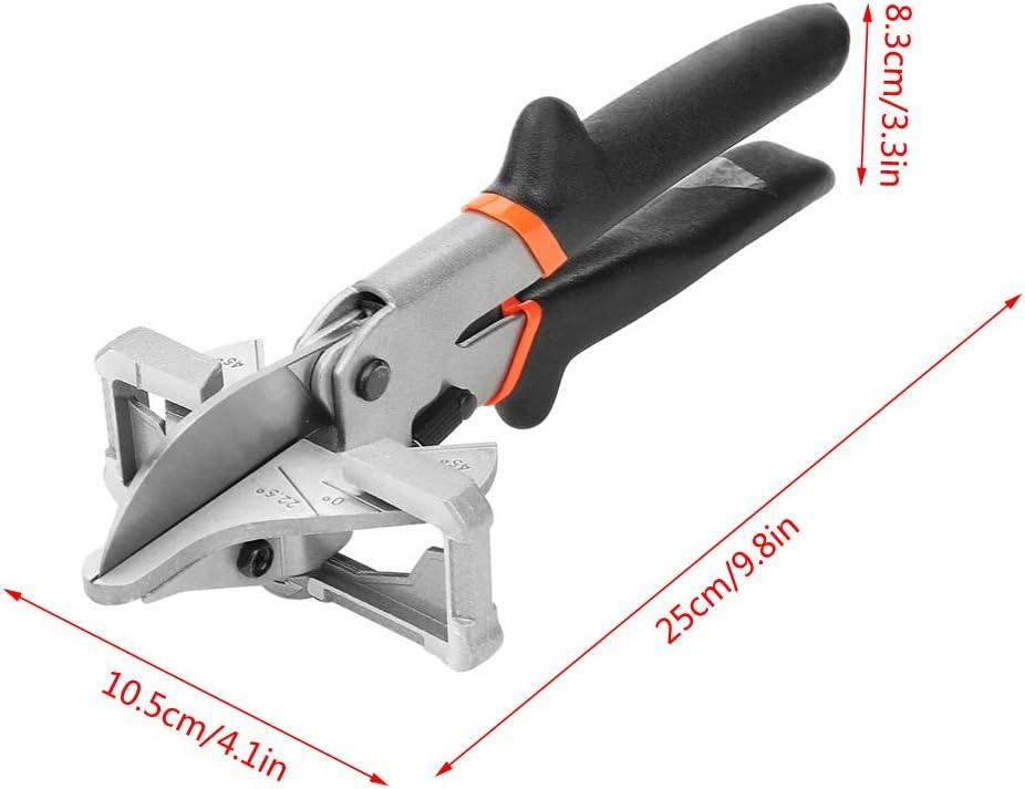 135 /° pour tube de goulotte en PVC Cisaille multi-angle pour joint d/étanch/éit/é 0 /°