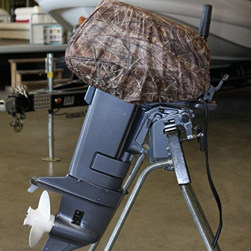 Avery Outdoors Standard Outboard Cover,BuckBrush,Large,30-40hp